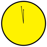 Doomsday Clock, as in Watchmen