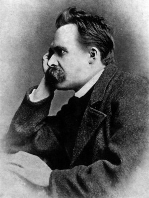 Friedrich Nietzsche, 1882, from Wikimedia Commons