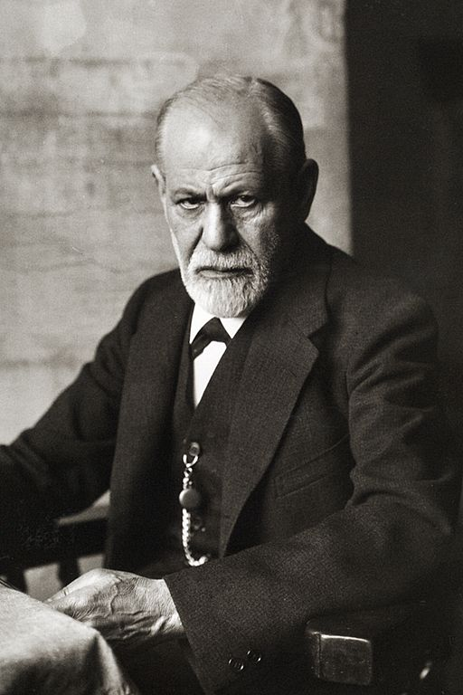 Sigmund Freud, 1926, from Wikimedia Commons