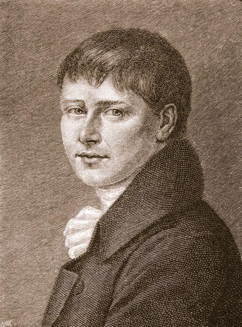 Heinrich von Kleist, from Wikimedia Commons
