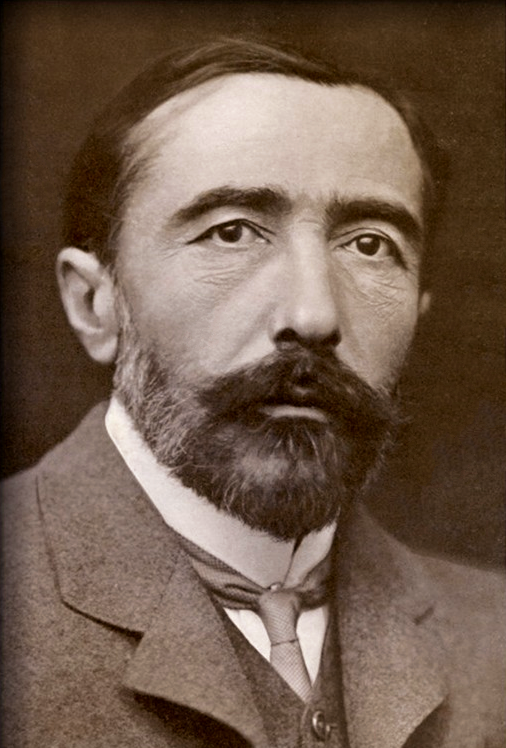 Joseph Conrad, 1904, public domain on Wikimedia Commons